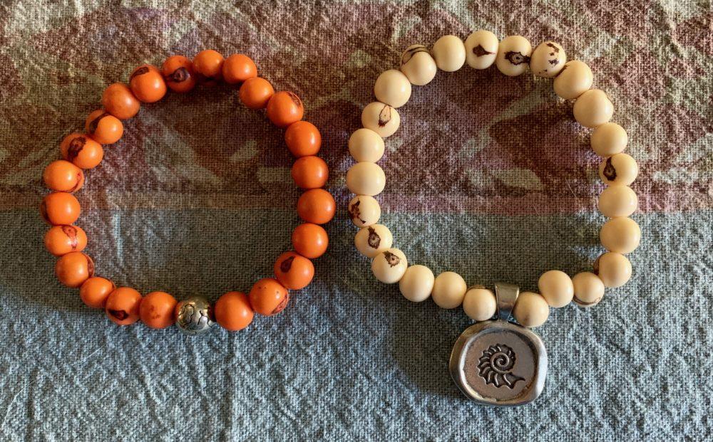 Listen Beaded Bracelet set