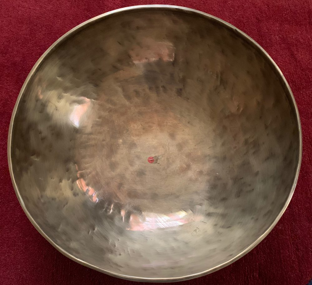 7 Metal Authentic hand hammered singing Bowl