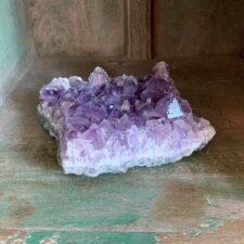 Amethyst Quartz Crystal Cluster