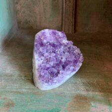 Amethyst crystal druzy