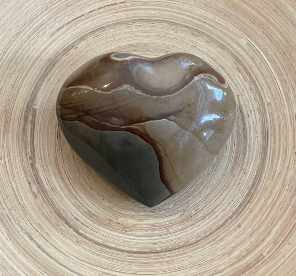 Polychrome Jasper Crystal Heart