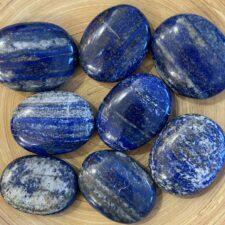 Lapis Lazuli Crystal Palm Stone Set