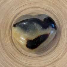 Septarian Crystal Heart