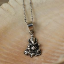 Silver Ganesh Necklace
