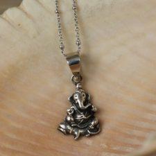 Silver Ganesh Necklace