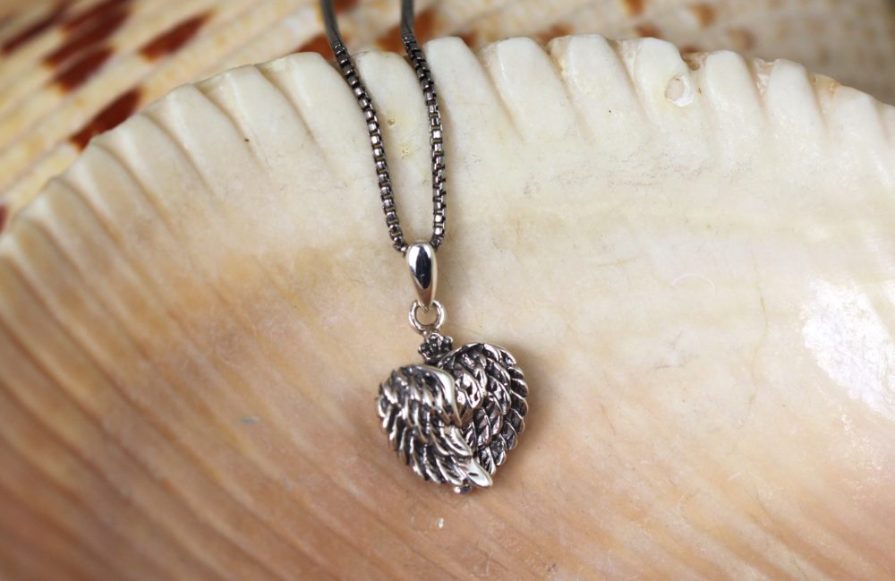 Silver My Angel Wings Necklace