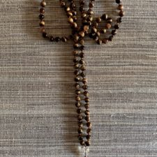 Tiger's Eye 108 Bead Mala