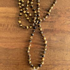 Tiger's Eye Crystal 108 Bead Mala