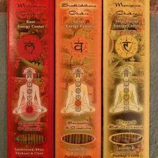 Chakra Incencse Set