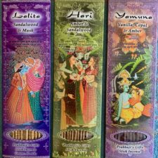 Stick Incense, pure, handrolled, vanilla, sandalwood,