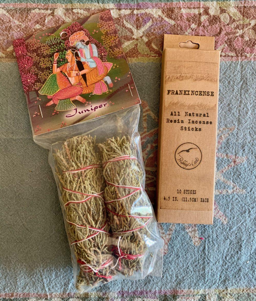 Juniper Smudge Sticks w/ Frankincense Sticks