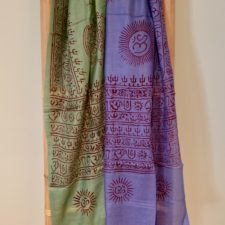 Happiness Prayer scarves with OM