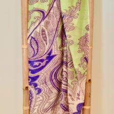 100% Modal paisley wrap shawl.