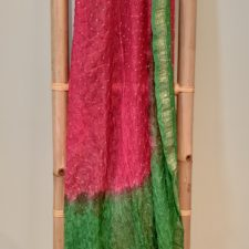 Silk Bandhani Shawl