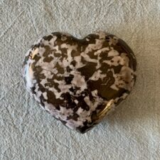 Mystic Merlinite Heart (Indigo Gabbro) Large