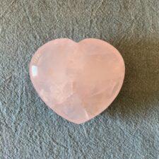 Rose Quartz Crystal Heart