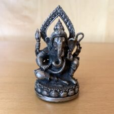 mini Sitting Halo Ganesh