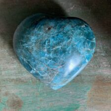 Apatite Crystal Heart