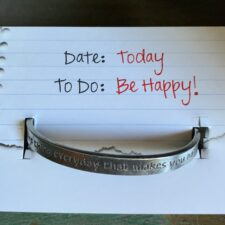 """Today be happy"