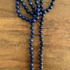 Lapis Lazuli Crystal 108 Bead Mala