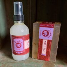 Lavender & Whte Sage Body Mist and Beauty Bar Set