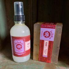 Lavender & Whte Sage Body Mist and Beauty Bar Set
