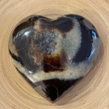 Large Septarian Crystal Heart